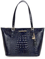 Brahmin Asher Embossed Leather Tote