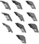 Oster Clipper guide comb, 10 pieces, fits Oster, Andis, Wahl, etc.