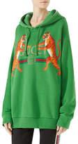 Gucci Logo Hooded Sweatshirt