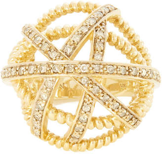 Nancy Newberg Diamond Ball Ring