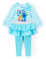 Children's Apparel Network Aqua Finding Nemo Dory Top & Pants - Toddler & Girls