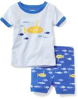 Old Navy 2-Piece Submarine-Graphic Sleep Set for Toddler & Baby