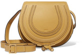 Chloé Marcie Mini Textured-leather Shoulder Bag - Yellow