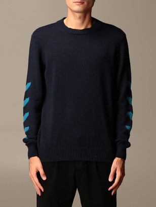 Alessandro Dell'Acqua Crewneck Sweater With Contrasting Details