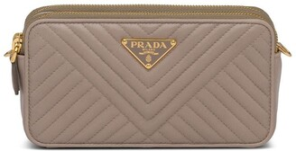 Prada Mini Quilted Shoulder Bag