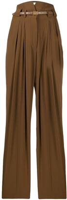 Fendi High Rise Darted Trousers