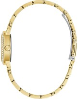 GUESS Gem Crystal Dial Gold Bracelet Watch