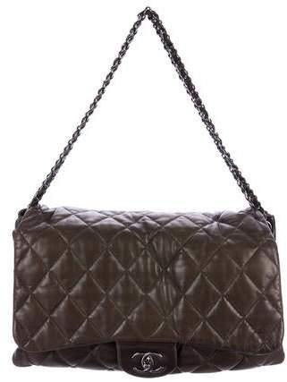 Chanel Maxi 3 Accordion Flap Bag