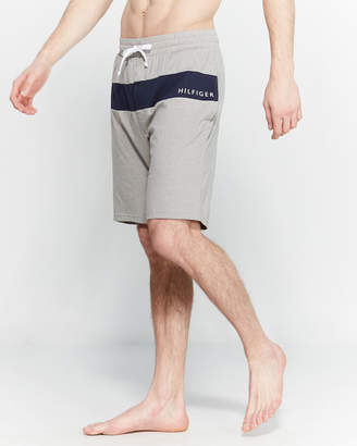 Tommy Hilfiger Striped Drawstring Lounge Shorts