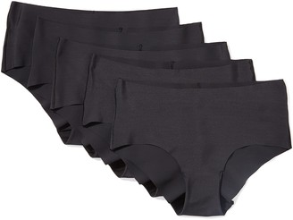 Iris & Lilly Women's Seamless Hipster Pack of 5