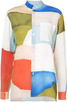 Rosetta Getty abstract print shirt