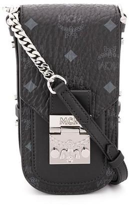 MCM All-Over Logo Crossbody Bag