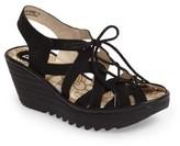 Fly London Women's Yapi Wedge Sandal