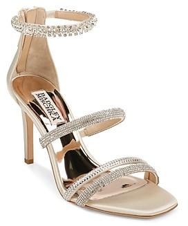 Badgley Mischka Women's Zulema Strappy High Heel Sandals