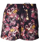 Christian Dior Floral Print Swim Shorts