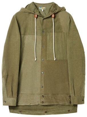 Loewe Military Tent Hooded Shirt
