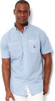 Nautica Shirt, Short Sleeve Geometric Shirt