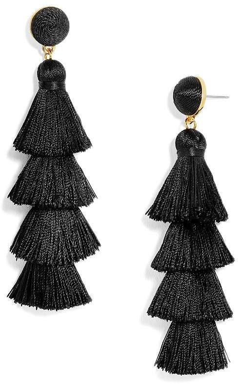 d56c246dcf65c3 Tiered Tassel Earrings - ShopStyle