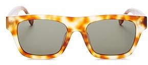 Le Specs Luxe Unisex Motif Square Sunglasses, 52mm