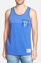 Mitchell & Ness Men's 'Brooklyn Dodgers' Stripe Pocket Tank