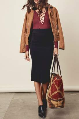 Denim Spot Adela Pencil Skirt