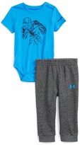 Under Armour Infant Boy's Be Strong Be Fearless Bodysuit & Pants Set
