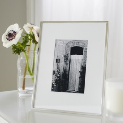 "The White Company Fine Silver Photo Frame 4x6"", Silver, One Size"