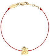 Redline Diamond Monkey Bracelet - Red