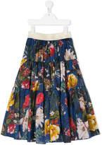 MonnaLisa tropical gypsy skirt