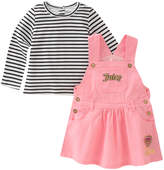 Juicy Couture Cotton-Blend Top and Dress Set