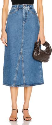 Sprwmn Mid Length Skirt in The Goodall   FWRD
