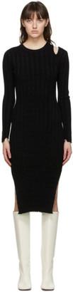 Proenza Schouler Black White Label Velvet Dress