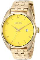 Nixon Women's 'Bullet' Quartz Stainless Steel Casual Watch, Color:Gold-Toned (Model: A4182627-00)
