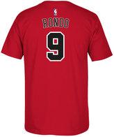 adidas Men's Rajon Rondo Chicago Bulls Player T-Shirt