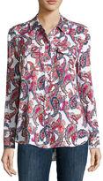 Liz Claiborne Long-Sleeve Shirt - Tall