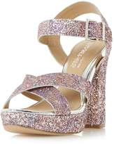 Head Over Heels *Head Over Heels by Dune Glitter 'Miya' High Heel Sandal