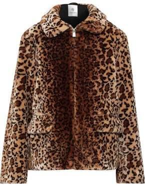 Anine Bing Molly Leopard-print Faux Fur Jacket
