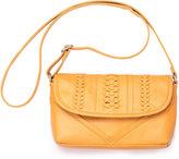 Toms Saffron Seamed Leather Cadence Crossbody Bag