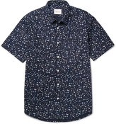 Steven Alan - Printed Cotton-poplin Shirt