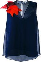 DELPOZO sleeveless blouse