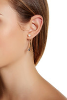 Botkier 3-Stone & Simulated Pearl Earrings