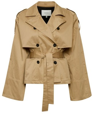Gestuz Mia Belted Cotton Jacket