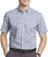 Van Heusen Short-Sleeve Button-Front Woven Shirt