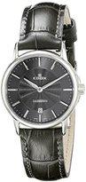 Edox Women's 57001 3 GIN Les Bemonts Analog Display Swiss Quartz Grey Watch