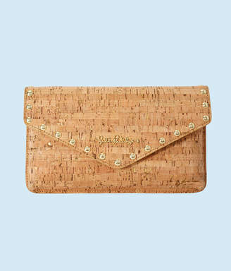 Lilly Pulitzer St. Barts Studded Cork Clutch