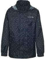 Trespass Childrens Unisex Totam Zip Up Packaway Waterproof Jacket