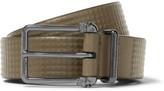 Alexander Mcqueen - 3cm Green Studded Leather Belt