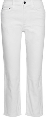 Simon Miller Cropped High-rise Kick-flare Jeans