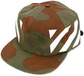 Off-White camouflage print cap - men - Cotton - One Size