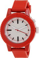 Nixon Women's A287-200 Gogo Red/White Polycarbonate Watch